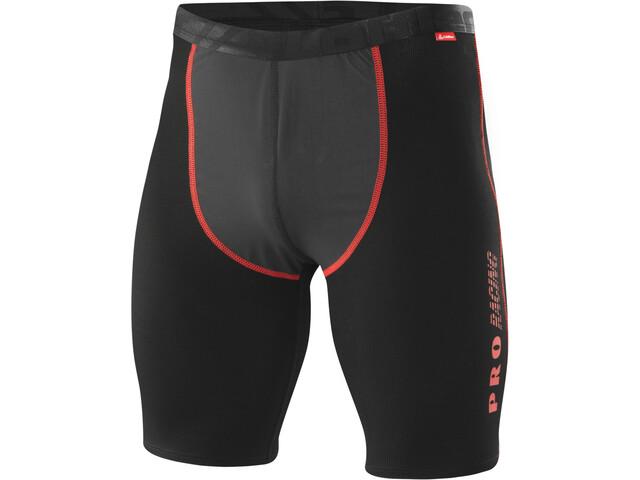 Löffler WS Transtex Light Boxershorts Heren, black/red
